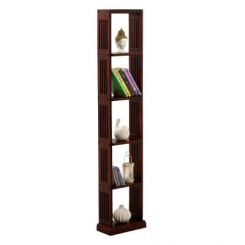 Delphia Wall Shelf (Mahogany Finish)