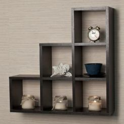 Dine Wall Rack (Black Finish)