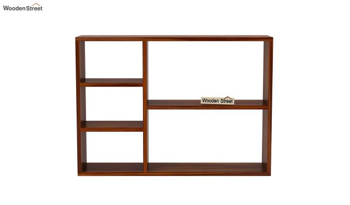 Fair Wall Shelf (Honey Finish)-3