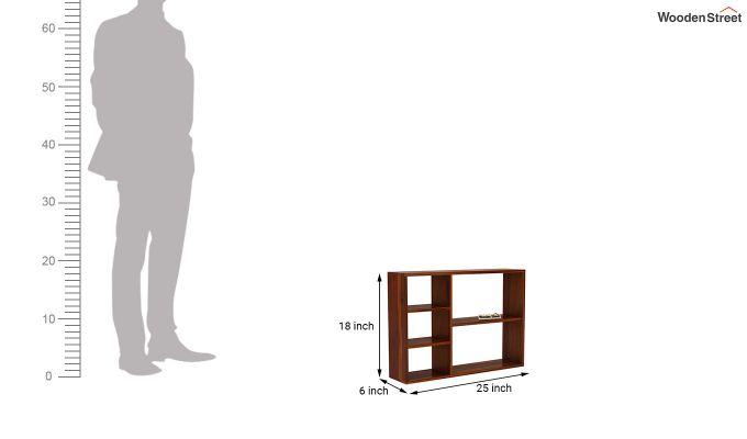 Fair Wall Shelf (Honey Finish)-4