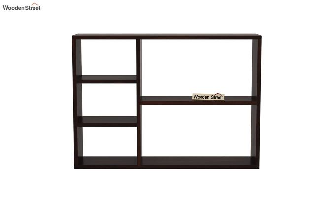 Fair Wall Shelf (Walnut Finish)-3