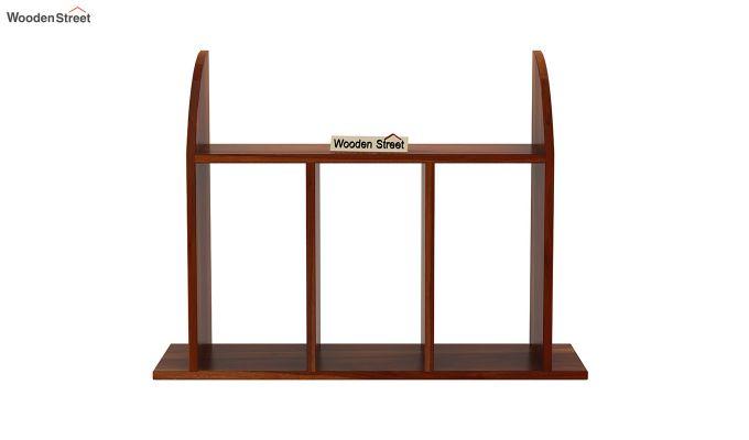 Frontus Wall Shelf (Honey Finish)-3