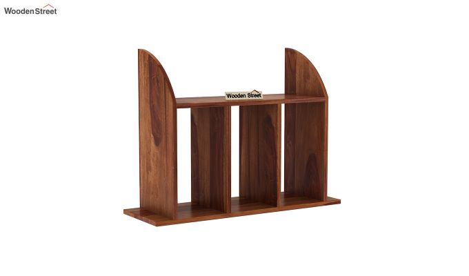 Frontus Wall Shelf (Teak Finish)-2