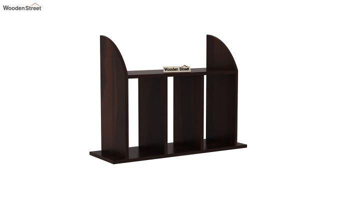 Frontus Wall Shelf (Walnut Finish)-2