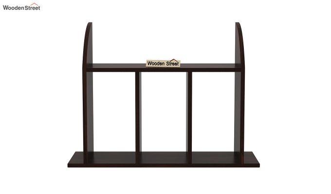 Frontus Wall Shelf (Walnut Finish)-3