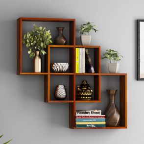 Admirable Buy Wall Shelves In India Online At Best Prices Wooden Street Home Interior And Landscaping Mentranervesignezvosmurscom