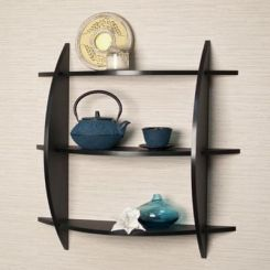 Isla Wall Rack (Black Finish)