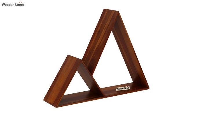 Itzel Wall Shelf (Honey Finish)-2