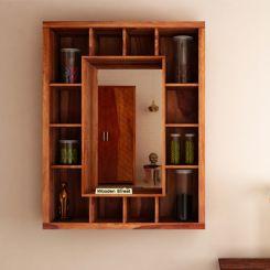 Jaden Wall Shelf With Mirror