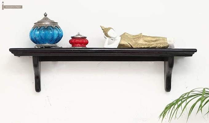 Keller Wall Shelves (Black Finish)-2