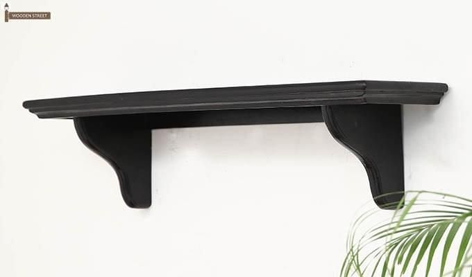 Keller Wall Shelves (Black Finish)-3