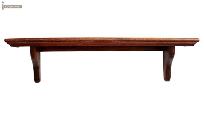 Keller Wall Shelves (Mahogany Finish)-4
