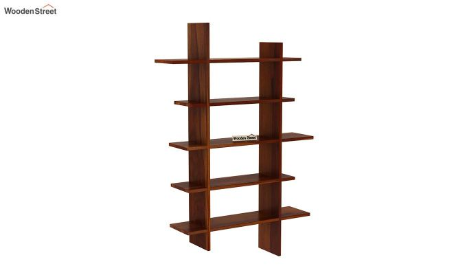 Lado Wall Shelf (Honey Finish)-2