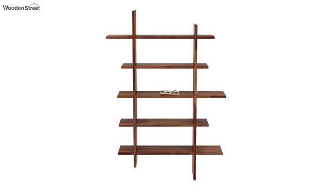 Lado Wall Shelf (Teak Finish)-3