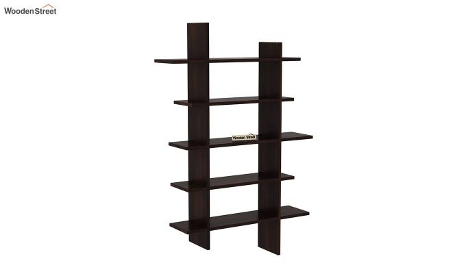 Lado Wall Shelf (Walnut Finish)-2