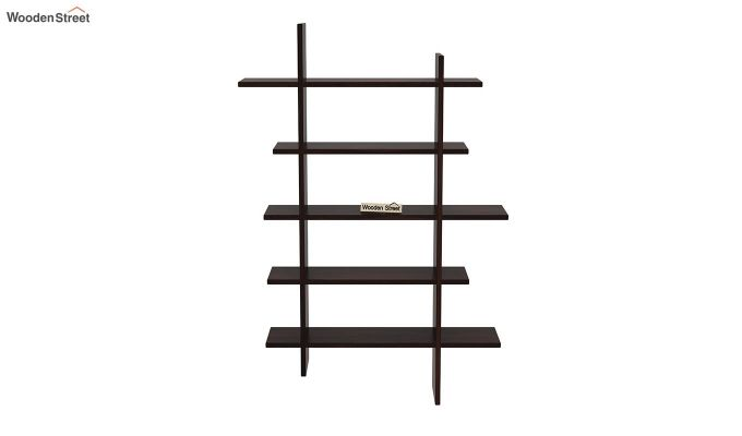 Lado Wall Shelf (Walnut Finish)-3