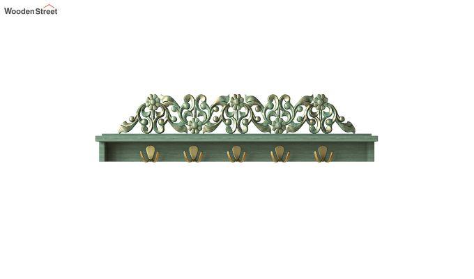 Maiden Wall Shelf with Hooks-2
