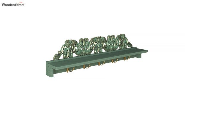 Maiden Wall Shelf with Hooks-3