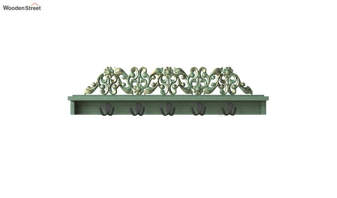 Maiden Wall Shelf with Hooks-2
