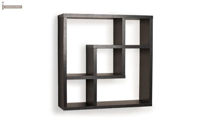 Monopoly Wall Shelves (Black Finish)-2