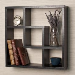 Monopoly Wall Shelves (Black Finish)