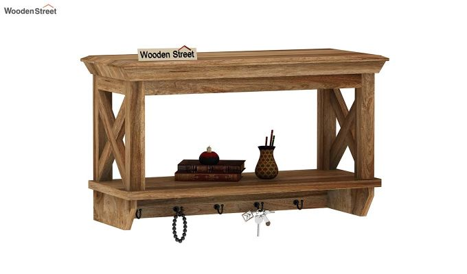 Nature Barn Wall Shelf (Natural Finish)-2