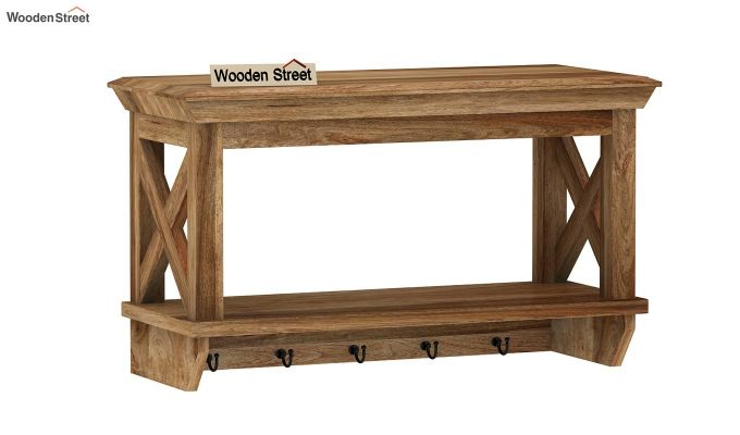 Nature Barn Wall Shelf (Natural Finish)-4