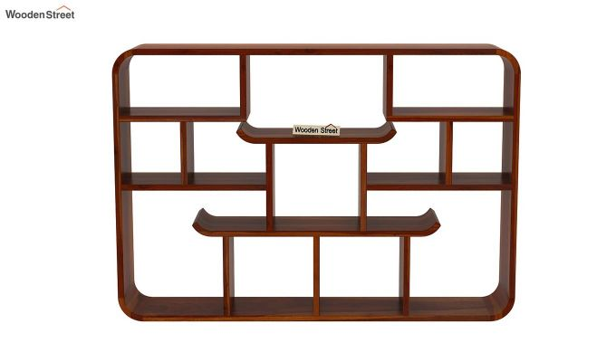 Niho Wall Shelf (Honey Finish)-3