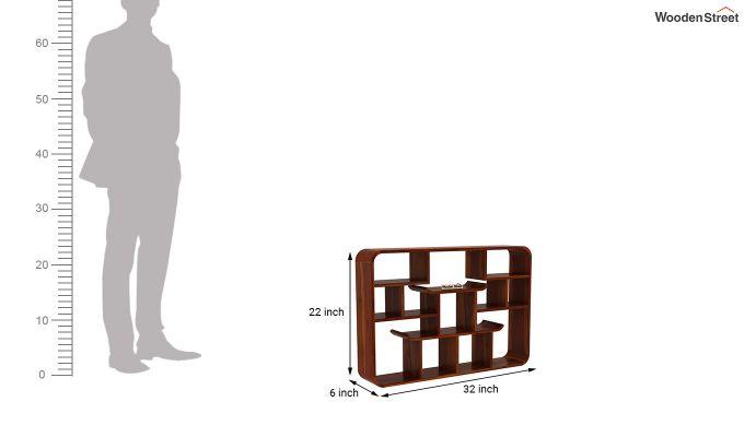 Niho Wall Shelf (Honey Finish)-4