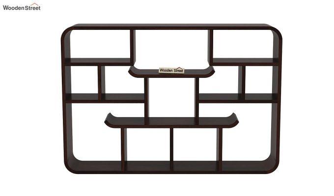 Niho Wall Shelf (Walnut Finish)-3