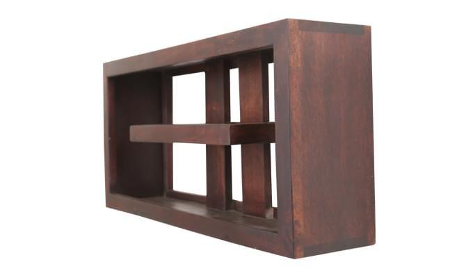 Pelagic Wall Cabinets (Mahogany Finish)-2