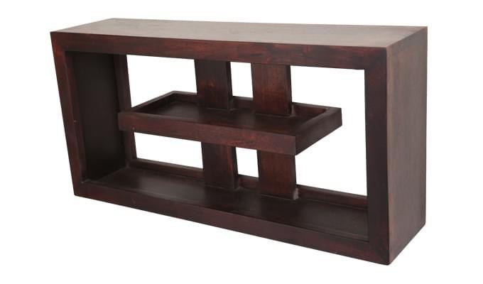 Pelagic Wall Cabinets (Mahogany Finish)-3