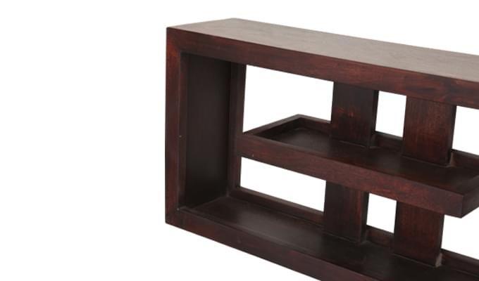 Pelagic Wall Cabinets (Mahogany Finish)-5