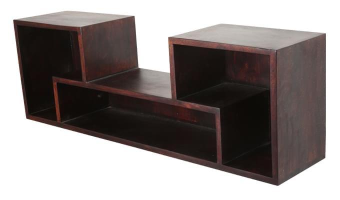 Pinyon Wall Shelves (Mahogany Finish)-3