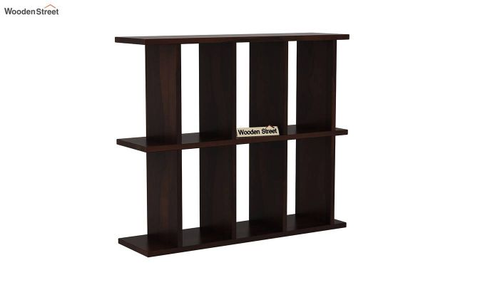 Plaza Wall Shelf (Walnut Finish)-2