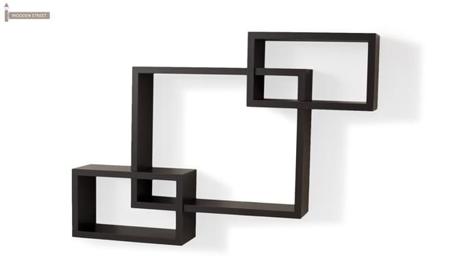 Portland Wall Rack (Black Finish)-2