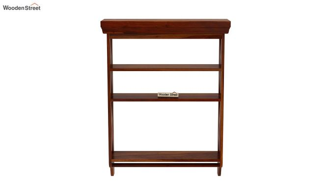 Shire Wall Shelf (Honey Finish)-3