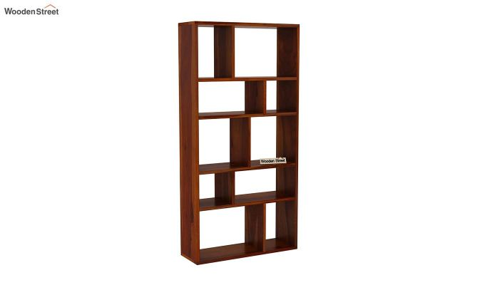 Taris Wall Shelf (Honey Finish)-2