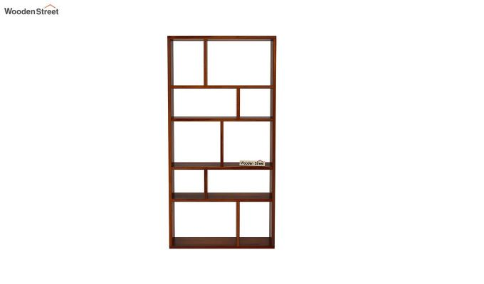 Taris Wall Shelf (Honey Finish)-3