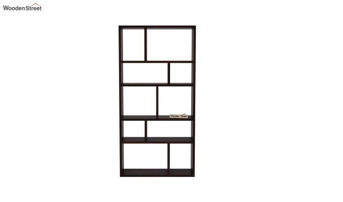 Taris Wall Shelf (Walnut Finish)-3