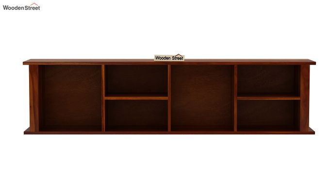 Tia Wall Shelf (Honey Finish)-3