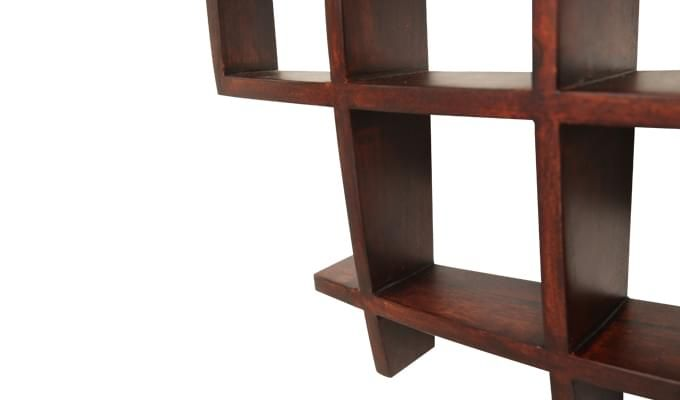 Trinity Kitchen Rack (Mahogany Finish)-5