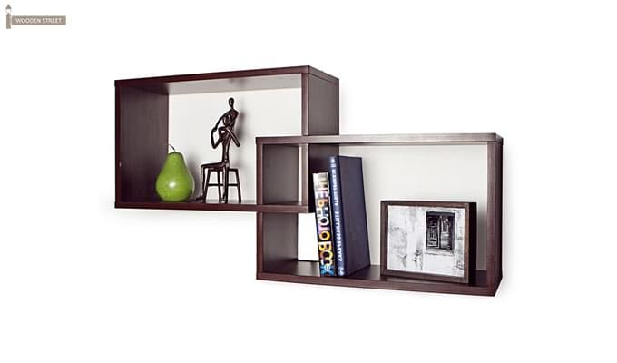 Wren Wall Shelf (Mahogany Finish)-2
