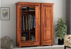 Buy The Best Wooden Wardrobe वरडरब Online At Best Price
