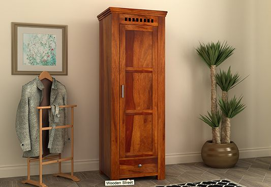 buy wardrobe online, 1 door wooden cupboard