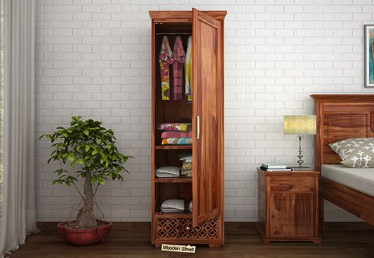 solid wood wardrobes online India