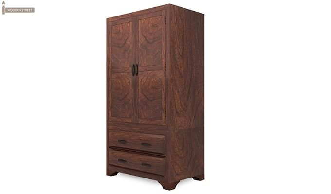 Carlton Multi-Utility Wardrobe (Walnut Finish)-4