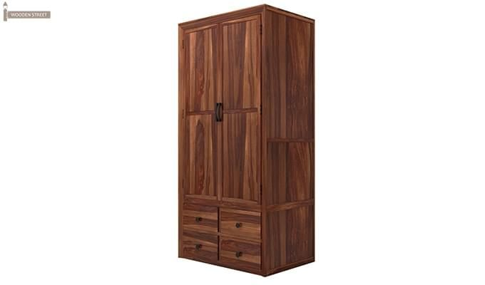 Carvel Multi-Utility Wardrobe (Teak Finish)-3