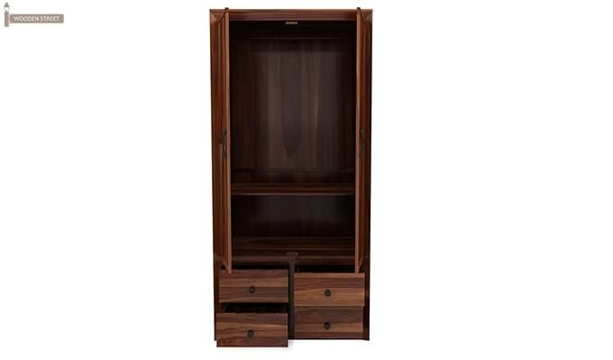 Carvel Multi-Utility Wardrobe (Teak Finish)-4