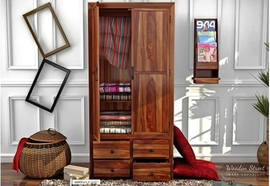 sliding door wardrobe online, wood cupboard